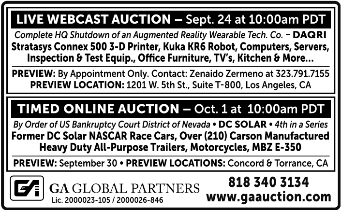 Timed Online Auction Oct 1at 10 00am Pdt By Order Of Us Ban Non Scaa Auctions Directory