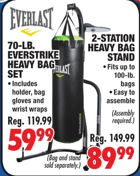 Everstrike Heavy Bag Set 5 Sporting Goods