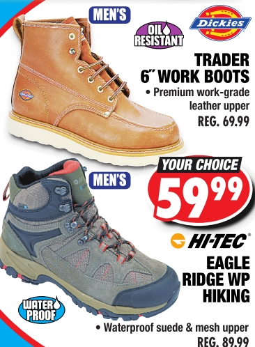 TRADER 6 WORK BOOTS - Big 5 Sporting Goods