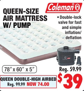 Queen Size Air Mattress Big 5 Sporting Goods