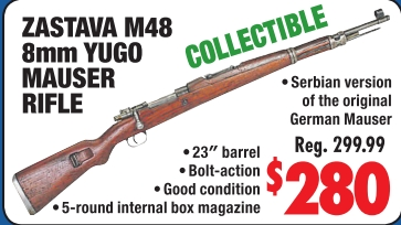 M48 8mm rifle yugoslavian mauser Collecting and