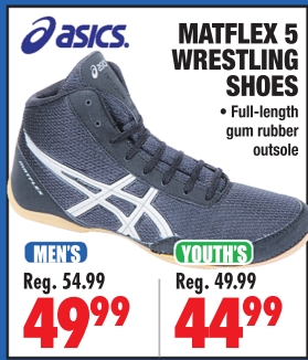 0d7a7f0f1e8754 MATFLEX 5 WRESTLING SHOES - Big 5 Sporting Goods