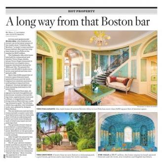 A Long Way From That Boston Bar Real Estate San Fernando Valley