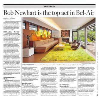 Bob Newhart Is The Top Act In Bel Air Real Estate South Bay South East